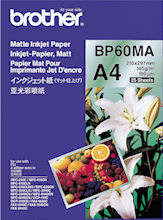 BROTHER A4 Glossy Inkjet paper BP71GA4
