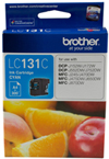 Brother LC131C Cyan Ink Cartridge Suitable for