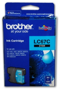 BROTHER INK LC67HYC CYAN HI YIELD