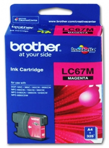 BROTHER INK LC67HYM Magenta HI YIELD