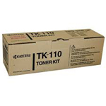 Kyocera TK-110 Black Toner Cartridge up to 7,200 pages at 5% coverage suitable for