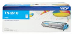 Brother TN251C Colour Laser Toner Cyan up to 1400 pages at 5% coverage suitable for